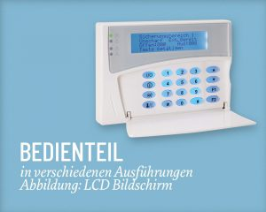 ABI Bedienteil Salzer Security Systems