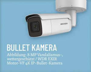 Hikvision Bullet 01 Salzer Security Systems