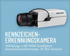 Hikvision Kennzeichenerkennung Salzer Security Systems