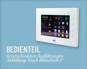Inim Bedienteil 7- Salzer Security Systems