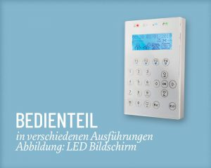 Inim Bedienteil LED - Salzer Security Systems