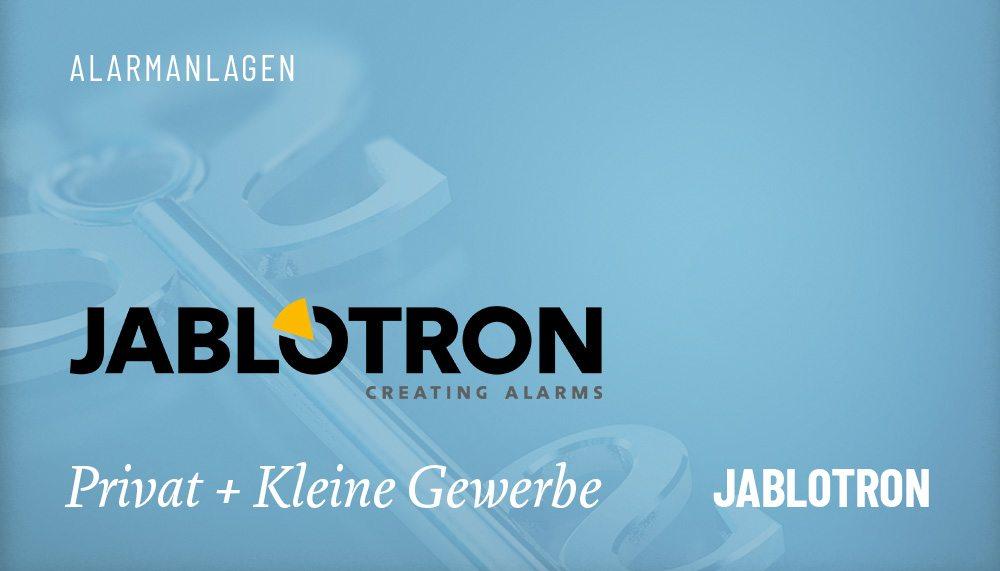 Produktgruppen Alarmanlage Jablotron