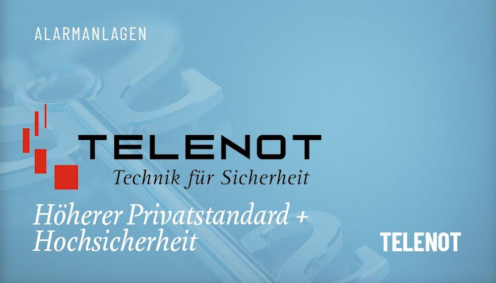 Produktgruppen Alarmanlage Telenot