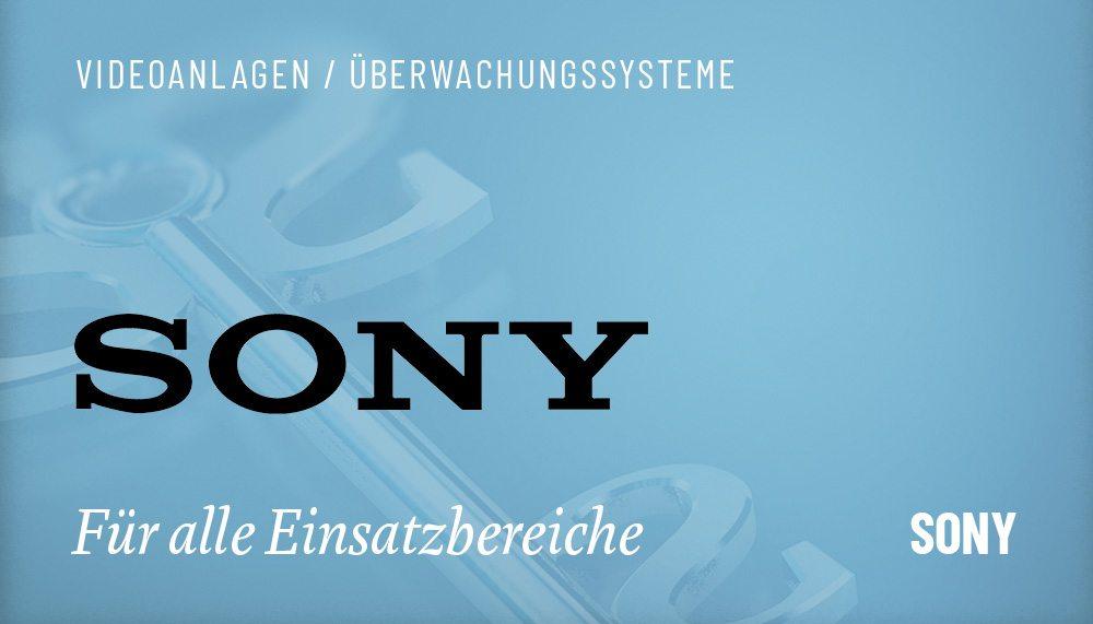 Produktgruppen Videoanlagen Hikvision Sony