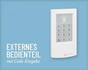 Telenot Bedienteil Extern Salzer Security Systems