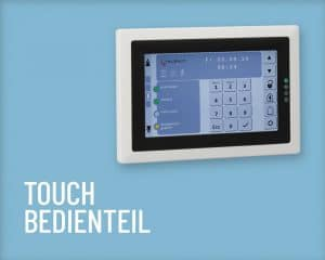 Telenot Bedienteil Touch Salzer Security Systems