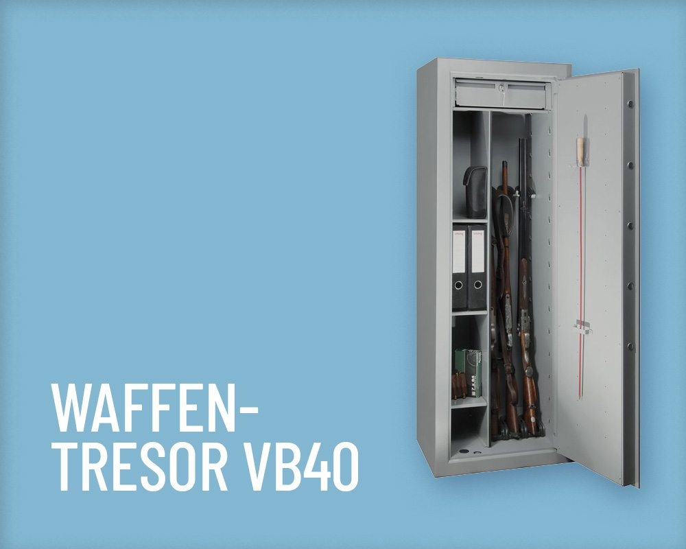 Tresore Wertheim Waffentresor VB40 Salzer Security Systems